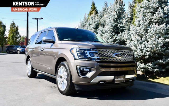 Pre-Owned 2018 Ford Expedition Max Platinum