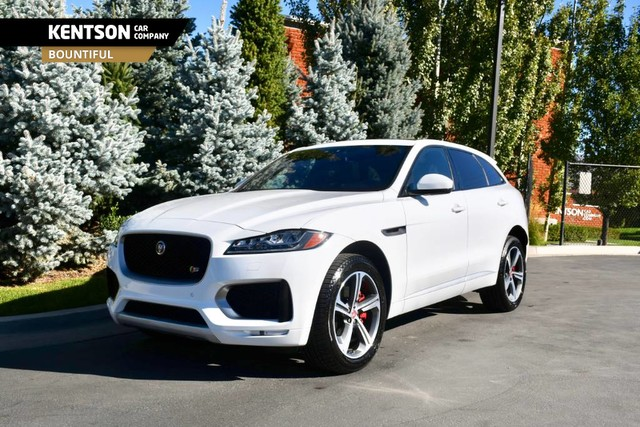 Kentson Car Company >> Pre-Owned 2018 Jaguar F-PACE S SUV in Bountiful #203220 ...