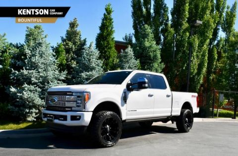 Pre-Owned 2019 Ford Super Duty F-350 SRW Platinum