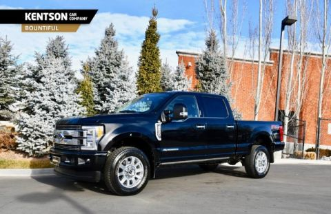 Pre-Owned 2018 Ford Super Duty F-350 SRW Limited